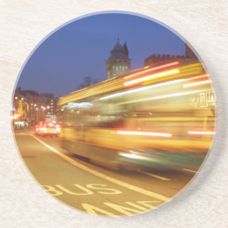 Cardiff at Night Drink Coasters