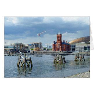 Cardiff Bay, Cardiff, Wales Card