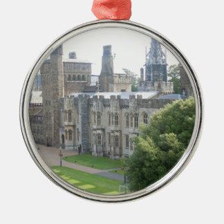 Cardiff Castle Christmas Ornament