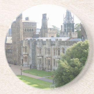 Cardiff Castle Drink Coasters