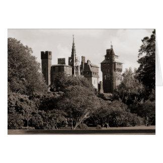 Cardiff Castle II - Sepia Card