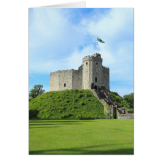 Cardiff Castle Keep II Card