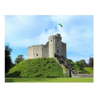 Cardiff Castle Keep Postcard