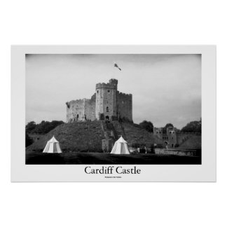 Cardiff Castle Poster