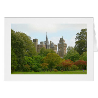 Cardiff Castle (Wide Bordered) Card