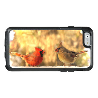 Cardinal Birds in Autumn OtterBox iPhone 6/6s Case