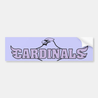 Cardinal Bumper Sticker