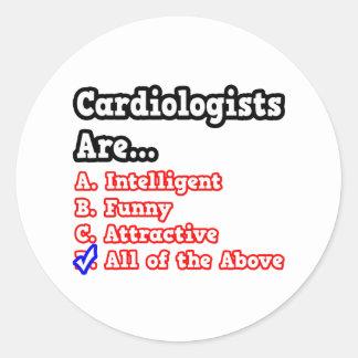 Cardiologist Quiz...Joke Sticker