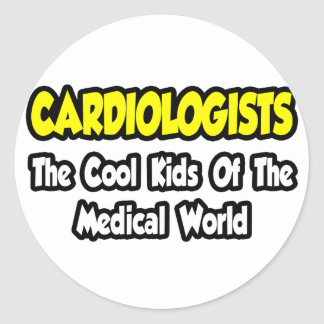 Cardiologists...Cool Kids of Medical World Sticker