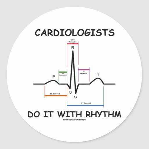 Cardiologists Do It With Rhythm (ECG/EKG) Stickers