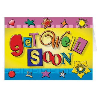 Cards - Get Well Soon 01
