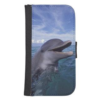 Caribbean, Bottlenose dolphins Tursiops 5 Samsung S4 Wallet Case
