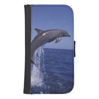 Caribbean, Bottlenose dolphins Tursiops 7 Samsung S4 Wallet Case