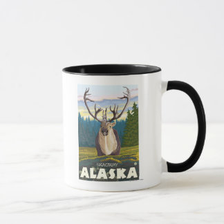 Caribou in the Wild - Skagway, Alaska Mug