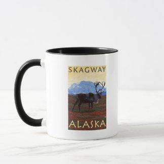 Caribou Scene - Skagway, Alaska Mug