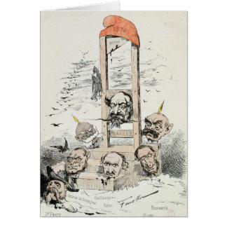 Caricature of Napoleon III  Otto Card