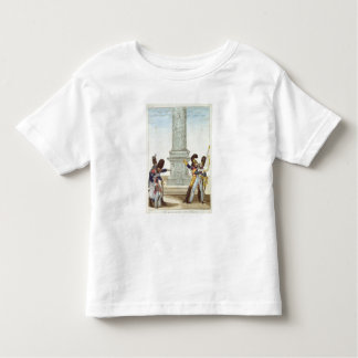 caricature of soldiers at the Colonne Vendome Toddler T-Shirt