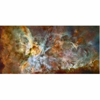 Carina Nebula Hubble Space Standing Photo Sculpture