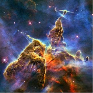 Carina Nebula (Hubble Telescope) Standing Photo Sculpture