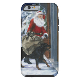 Carl Helping Santa Claus from <Carl's Christmas> b Tough iPhone 6 Case