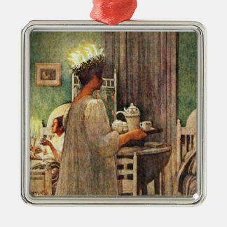 Carl Larsson St. Lucia Day Christmas in Sweden Christmas Ornament
