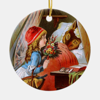 Carl Offterdinger: Little Red-Cap Christmas Ornament