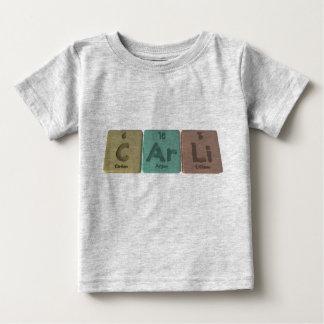 Carli as Carbon Argon Lithium Baby T-Shirt
