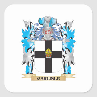 Carlisle Coat of Arms - Family Crest Sticker