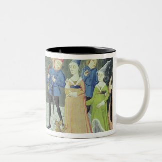 Carlo Marsuppini  illustration Two-Tone Mug