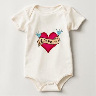Carly - Custom Heart Tattoo T-shirts & Gifts