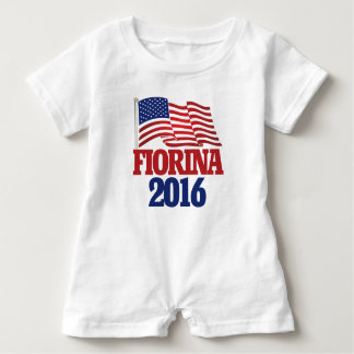 Carly Fiorina 2016 republican Baby Bodysuit