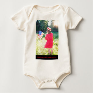 Carly Fiorina for President 2016 Baby Bodysuit