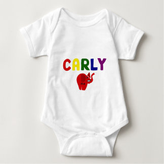 Carly Fiorina for President Original Art Baby Bodysuit