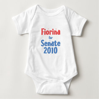 Carly Fiorina for Senate 2010 Star Design Baby Bodysuit