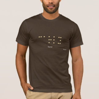 Carly in Braille T-Shirt