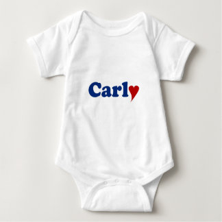 Carly with Heart Baby Bodysuit