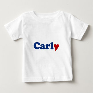 Carly with Heart Baby T-Shirt