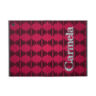 "Carmela ""Diamond Bling"" on Damask iPad Mini Folio iPad Mini Covers"