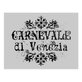 Carnevale di Venezia Postcard