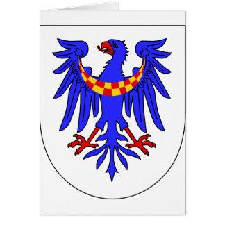 Carniola Arms, Hungary Greeting Cards