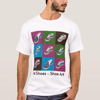 Carnival at the Zoo - Art Shoes - Shoe Art T-Shirt
