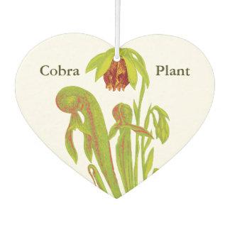 Carnivorous Cobra Pitcher Plant Car Air Freshener
