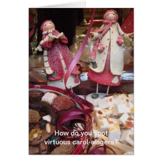Carol-singers Card