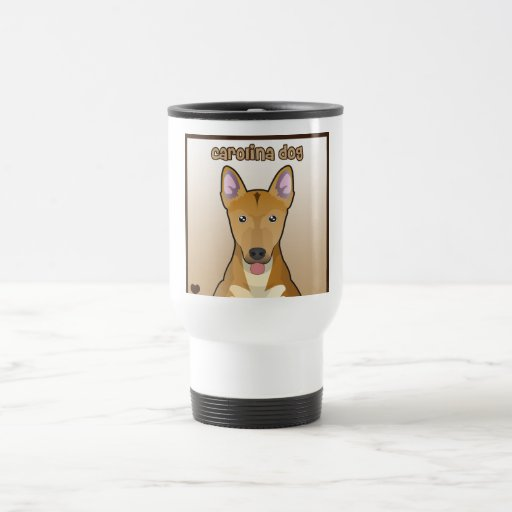 Carolina Dog Cartoon Coffee Mug