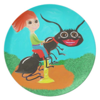 Carousel Ant Party Plate