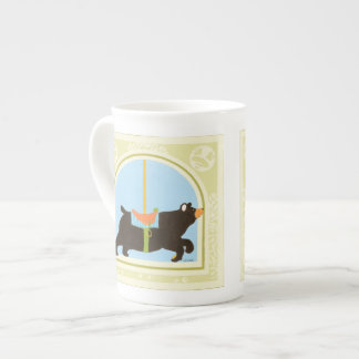 Carousel Bear by June Erica Vess Tea Cup