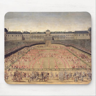 Carousel given for Louis XIV Mouse Pad