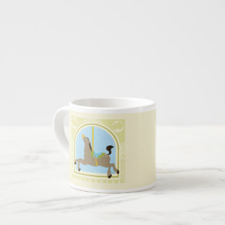 Carousel Horse by June Erica Vess Espresso Cup