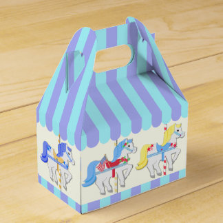 Carousel Ponies Party Favour Box