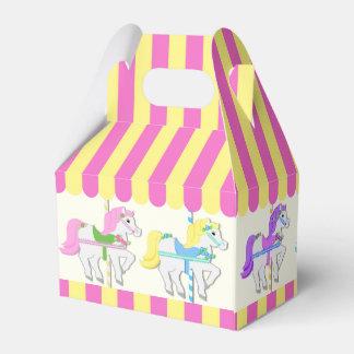 Carousel Ponies Wedding Favour Boxes